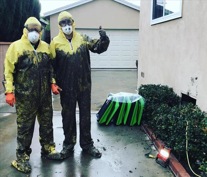 SERVPRO squad will do the dirty work for you